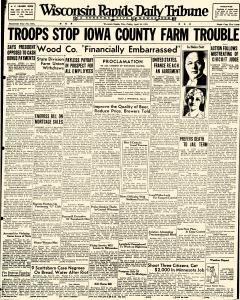 Wisconsin Rapids Daily Tribune, April 28, 1933, Page 1