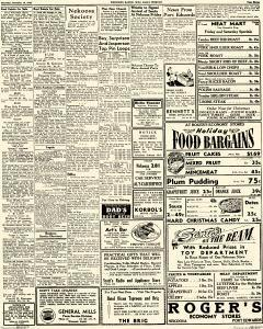 Wisconsin Rapids Daily Tribune, December 19, 1946, Page 3