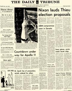 Wisconsin Rapids Daily Tribune, July 11, 1969, Page 1