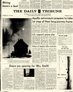 Wisconsin Rapids Daily Tribune, December 14, 1972, Page 1