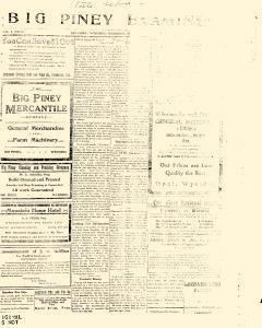 Big Piney Examiner, August 08, 1912, Page 1