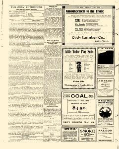 Cody Enterprise, May 11, 1905, Page 4
