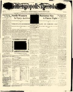 Thermapolis Record, August 12, 1905, Page 1