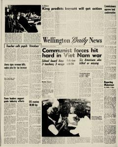 Wellington Daily News Newspaper Archives, Apr 6, 1965