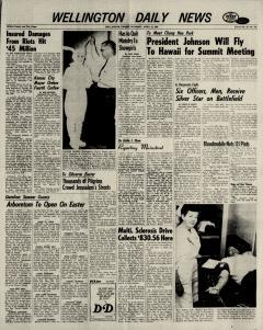 Wellington Daily News Newspaper Archives, Apr 13, 1968