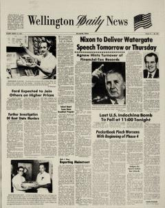 Wellington Daily News Newspaper Archives, Aug 14, 1973