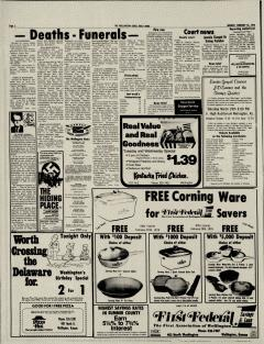 Wellington Daily News Archives, Feb 16, 1976, p  2