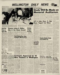 Wellington Daily News Newspaper Archives, May 7, 1968