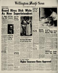 Wellington Daily News Newspaper Archives, Sep 10, 1965