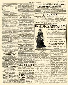 West London Church Chronicle newspaper archives