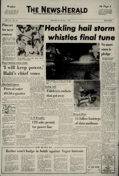 Willoughby News Herald newspaper archives