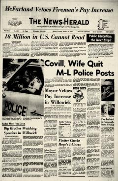 Willoughby News Herald Newspaper Archives Oct 2 1972