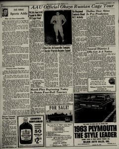 Wilson Daily Times Newspaper Archives, Nov 2, 1962, p  10
